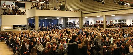 Skoleventilation etableret på Allerød Gymnasium i to auditorier